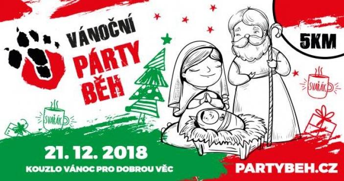 Vánoční charitativní párty běh