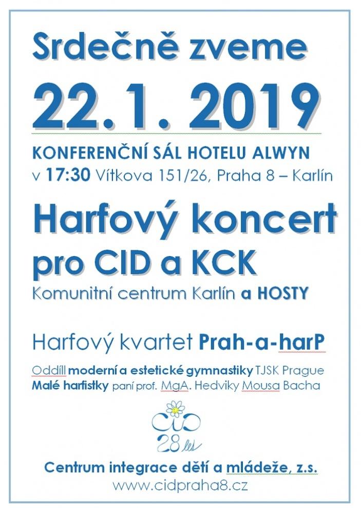 Harfový koncert pro CID