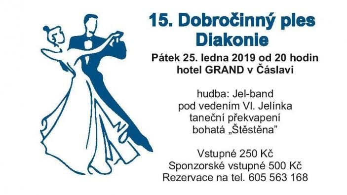 Dobročinný ples Diakonie