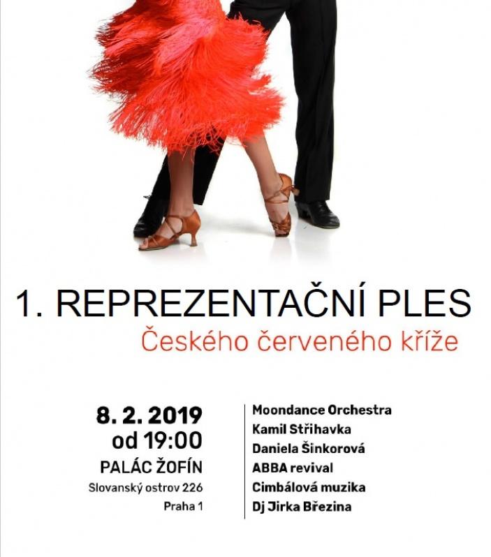 1. reprezentační ples Českého červeného kříže