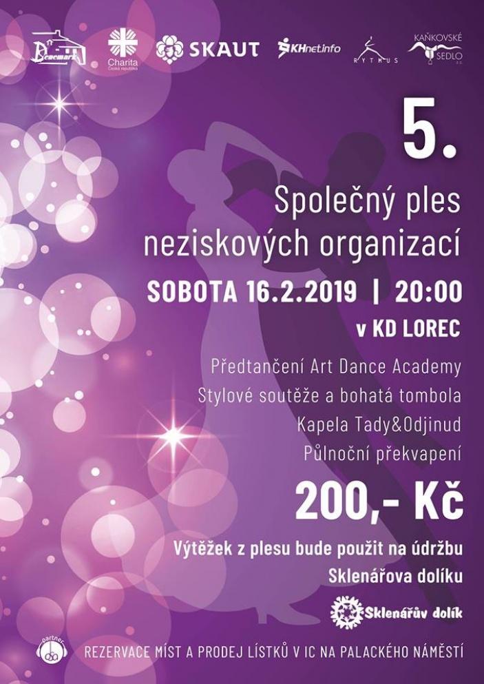 5. Společný ples neziskových organizací