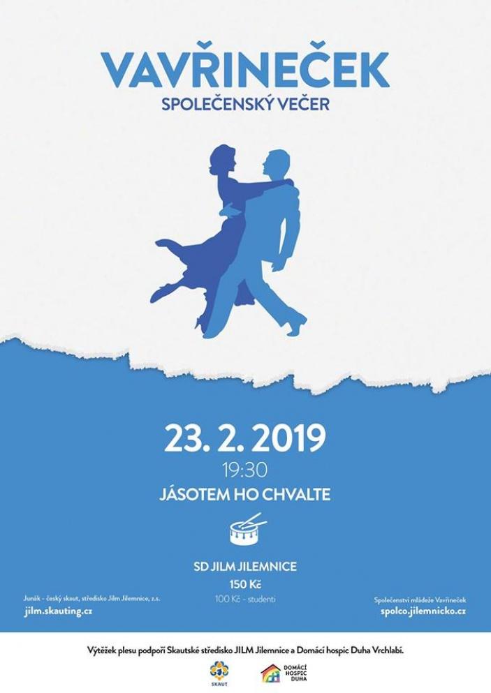 Společenský večer Vavřineček 2019