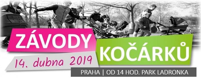 Závody kočárků v Praze pro Nedoklubko