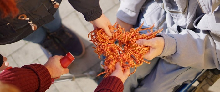 Zasukované tkaničky