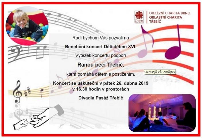 Koncert Děti dětem XVI.