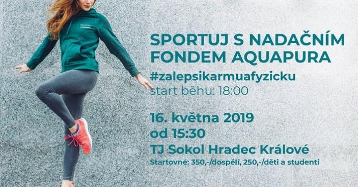Sportuj s Nadačním fondem Aquapura