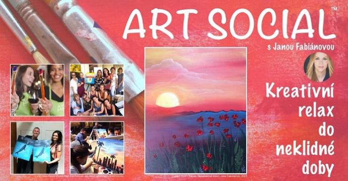 ArtSocial Malování s Janou Fabiánovou v Café AdAstra