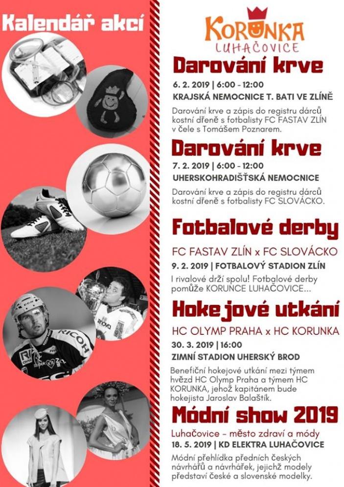 Darování krve a fotbalové derby s Korunkou Luhačovice