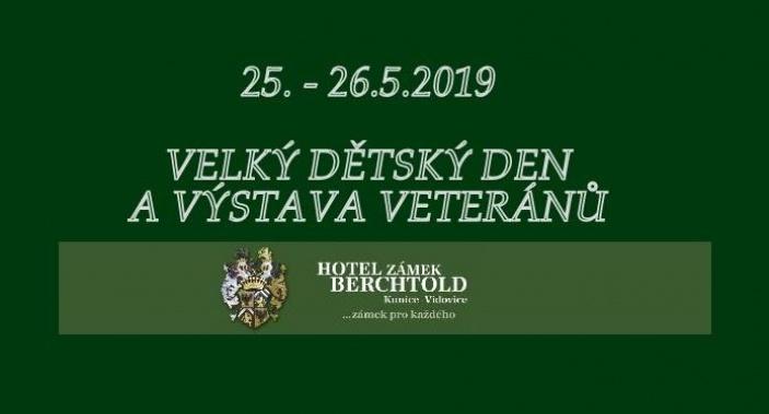 Velký dětský den a výstava veteránů na zámku Berchtold