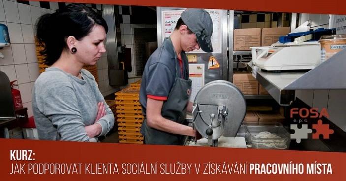 Jak podporovat klienta sociální sl. v získání pracovního místa