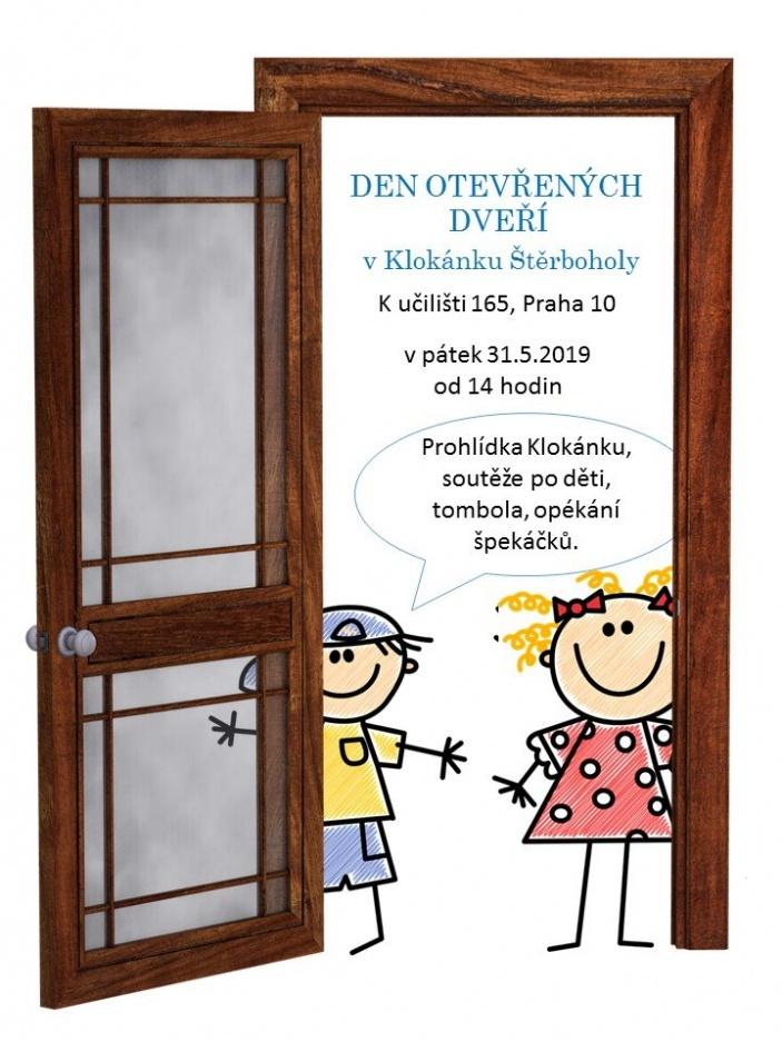 Den otevřených dveří v Klokánku