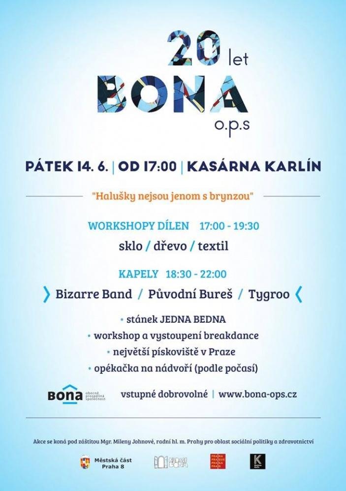 20 let Bona, o.p.s