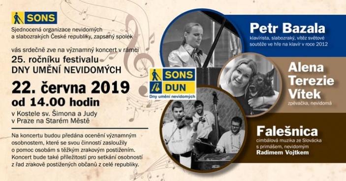 Den umění nevidomých v Praze