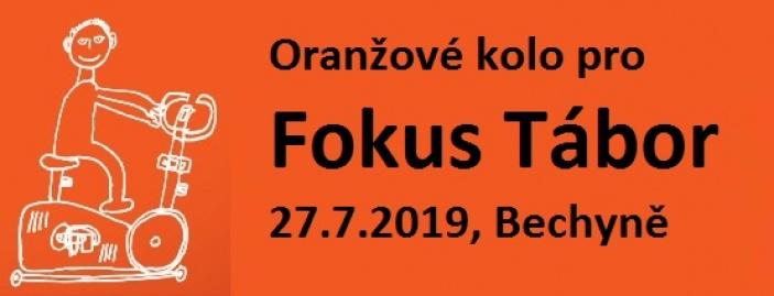 Oranžové kolo pro Fokus Tábor