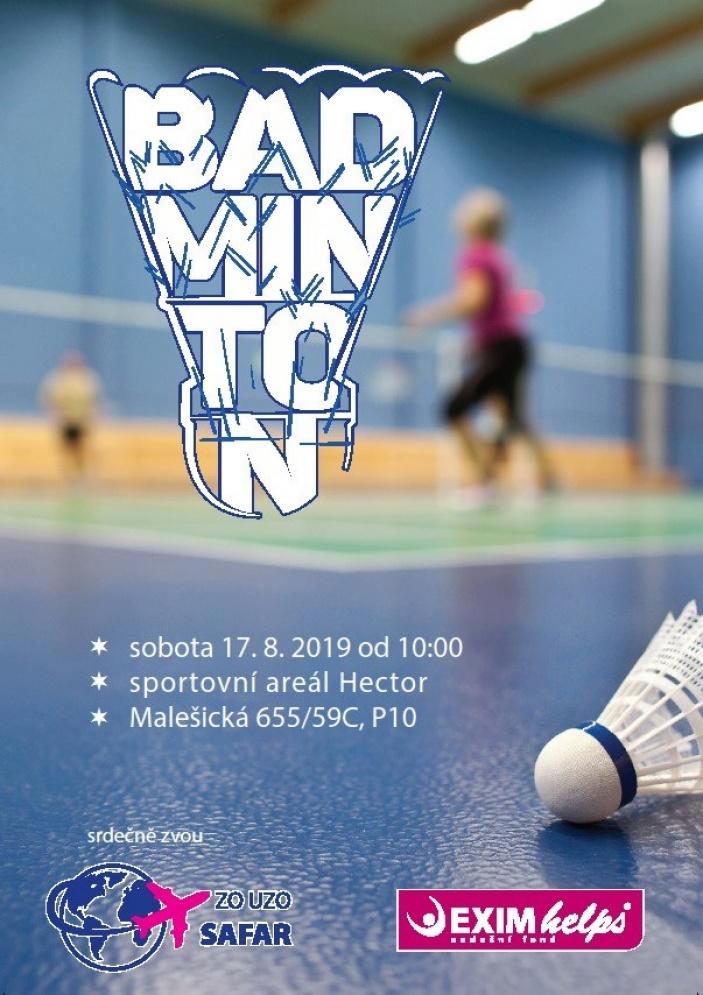 Badminton pro Dětské centrum Domeček