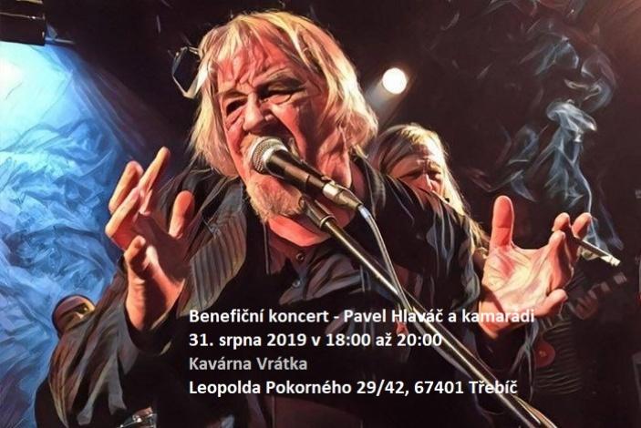 Benefiční koncert-Pavel Hlaváč a kamarádi