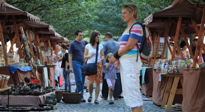 Tradiční řemeslné trhy na Kampě