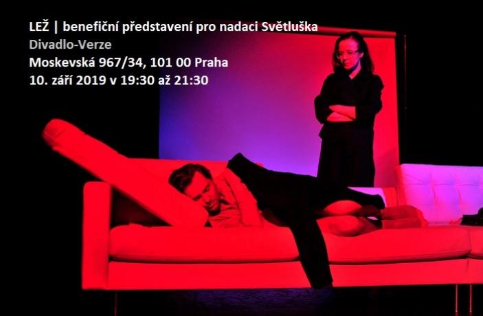 LEŽ - benefiční představení pro nadaci Světluška