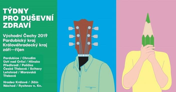 Týdny pro duševní zdraví - východní Čechy 2019