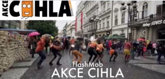 FLASH MOB v centru Prahy se Simonou Stašovou