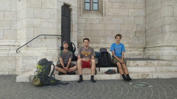 Pěšky do Budapešti