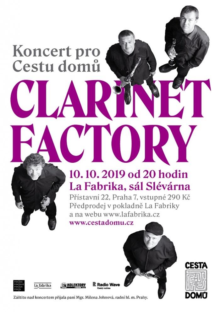 Domácí hospic slaví koncertem Clarinet Factory