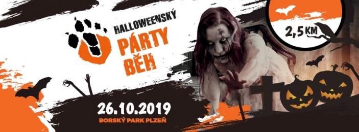 Halloweenský párty běh 2019