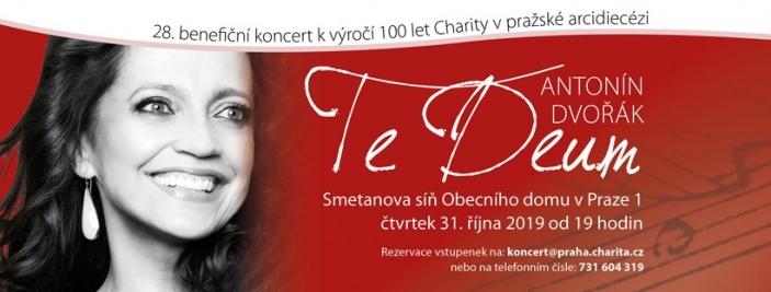 28. benefiční koncert k výročí 100 let Charity