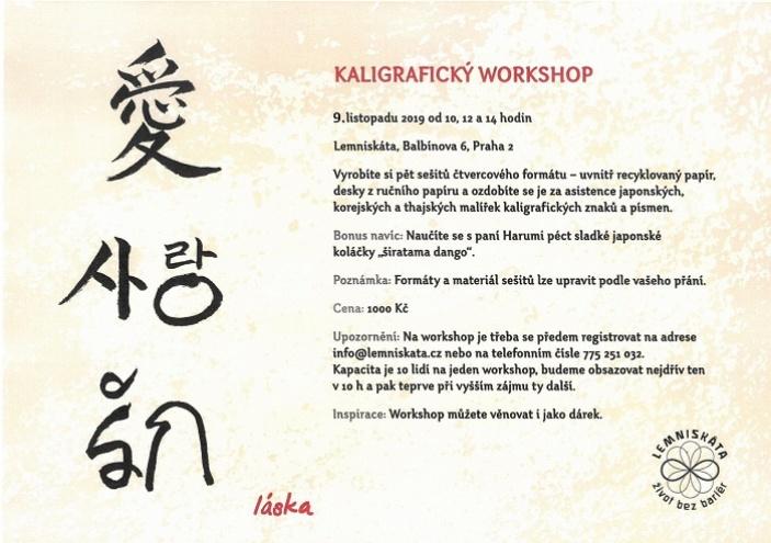 Kaligrafický workshop