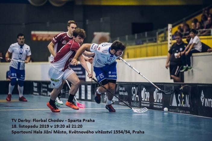 TV Derby: Florbal Chodov - Sparta Praha