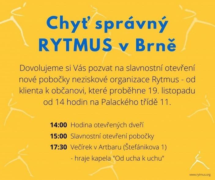 Slavnostní otevření pobočky v Brně