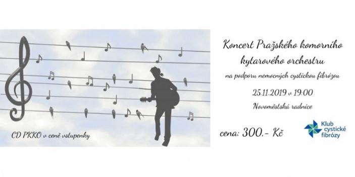 Koncert Pražského komorního kytarového orchestru