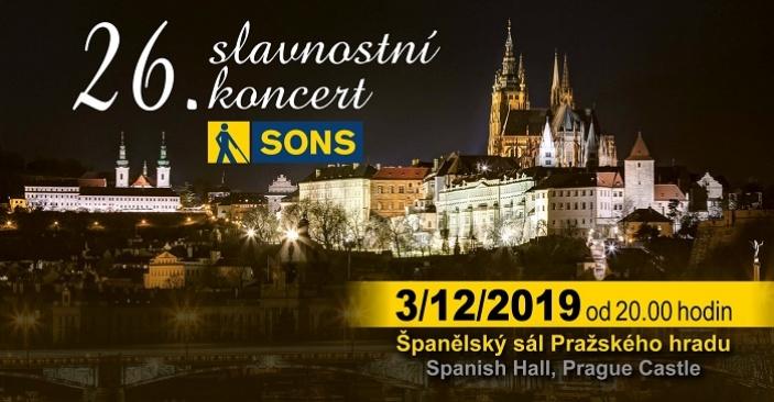 26. slavnostní koncert SONS