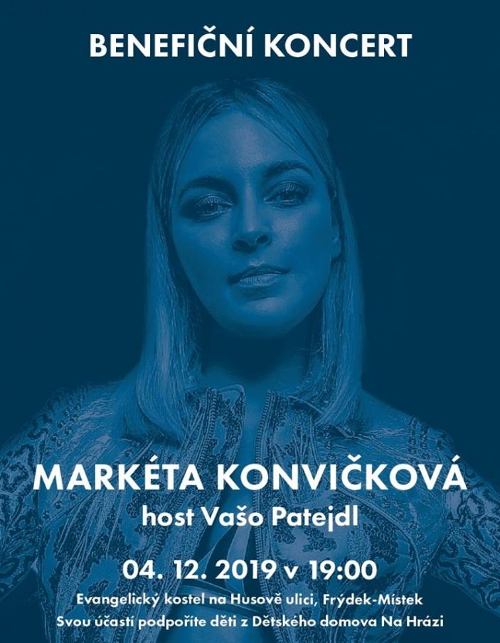 Benefiční koncert Markéta Konvičková