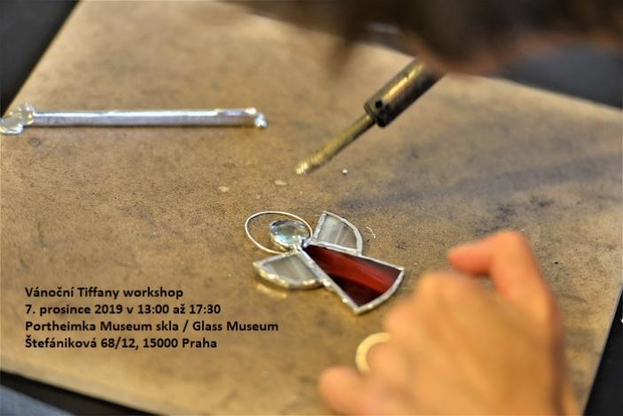 Vánoční Tiffany workshop