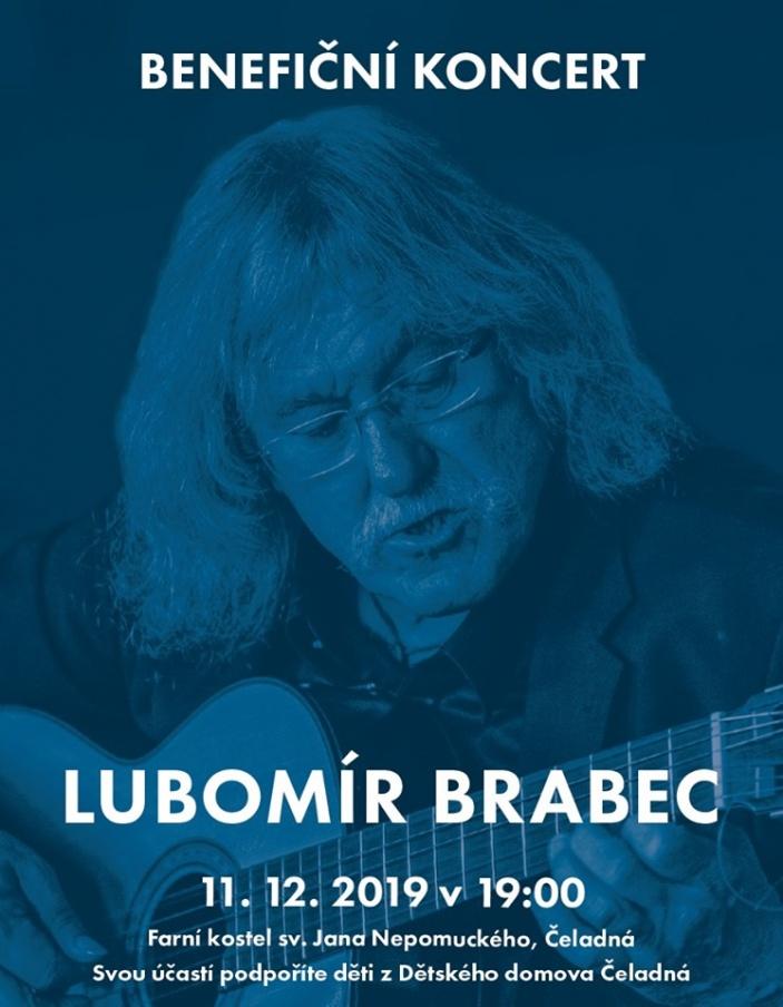 Benefiční koncert Lubomír Brabec