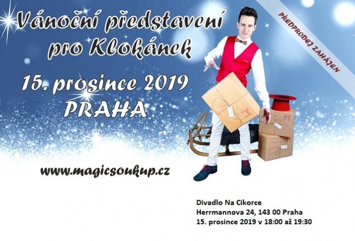 Vánoční představení pro Klokánek