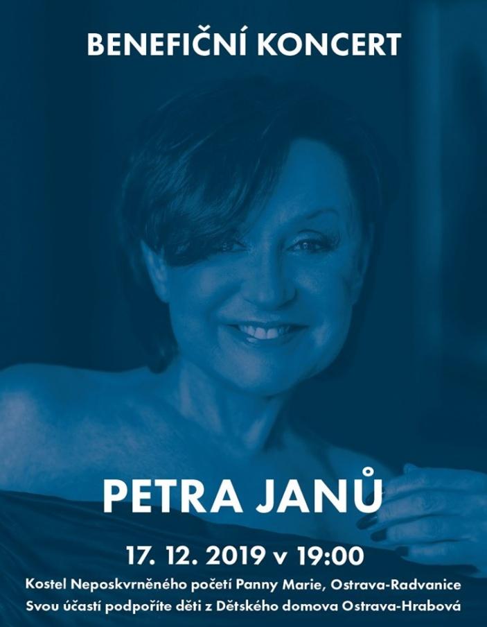 Benefiční koncert Petra Janů
