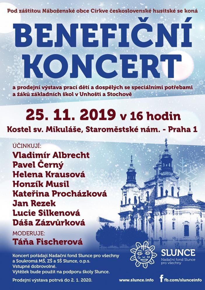 Benefiční koncert v kostele sv. Mikuláše