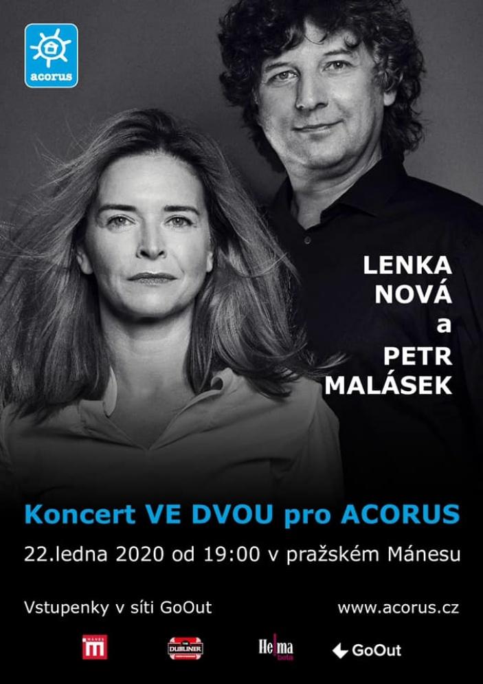 Benefice pro Acorus: Lenka Nová & Petr Malásek