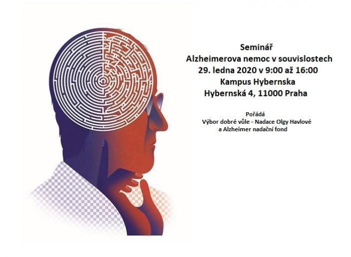 Seminář Alzheimerova nemoc v souvislostech