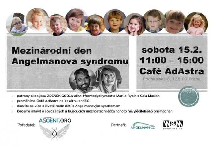 Mezinárodní den Angelmanova syndromu