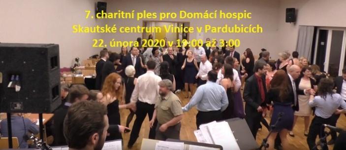 7. charitní ples pro Domácí hospic