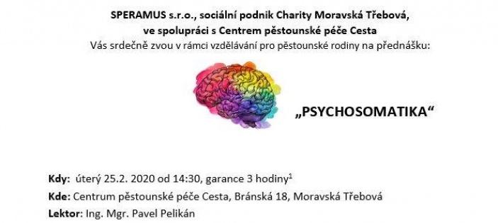 Přednáška Psychosomatika