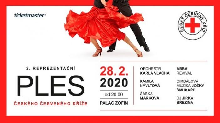 2. reprezentační ples Českého červeného kříže