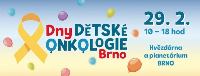 Dny dětské onkologie Brno 2020