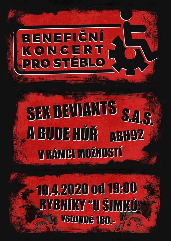 Benefiční koncert pro Stéblo II.