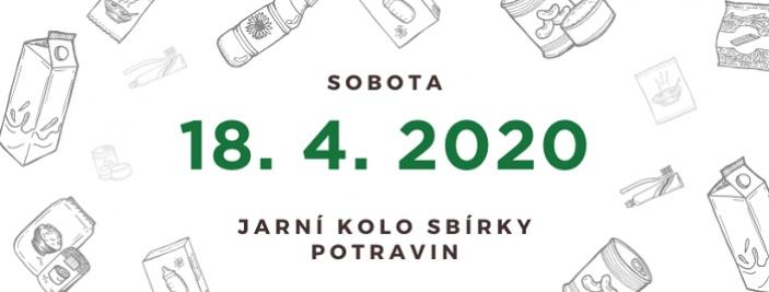 Sbírka potravin - jaro 2020