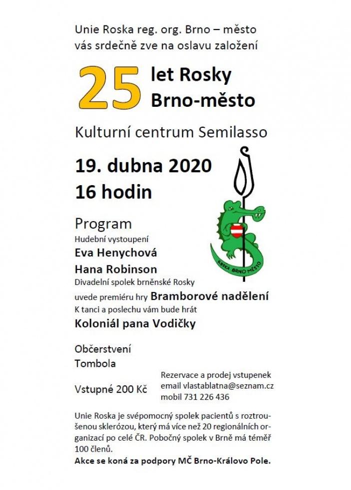 25 let Rosky Brno-město