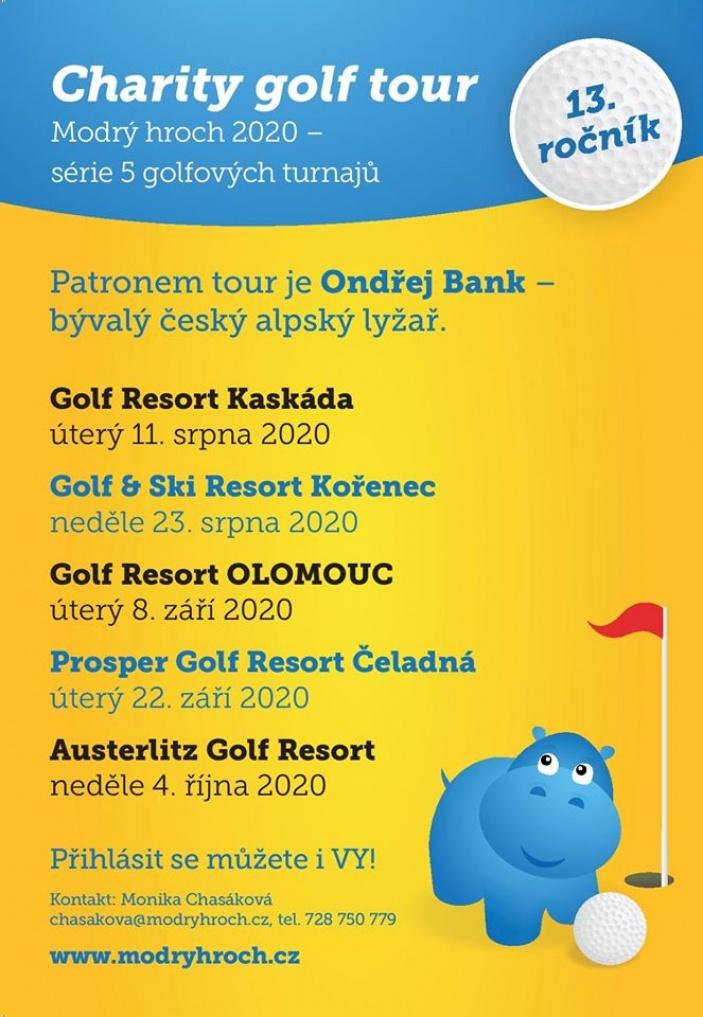 Charity golf tour